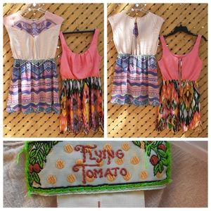 🔥2/$15🔥 Paperdoll and flying tomato dress bundle